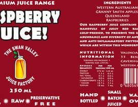 nº 63 pour Design a Label for Juice Bottle par SaranyaKrish