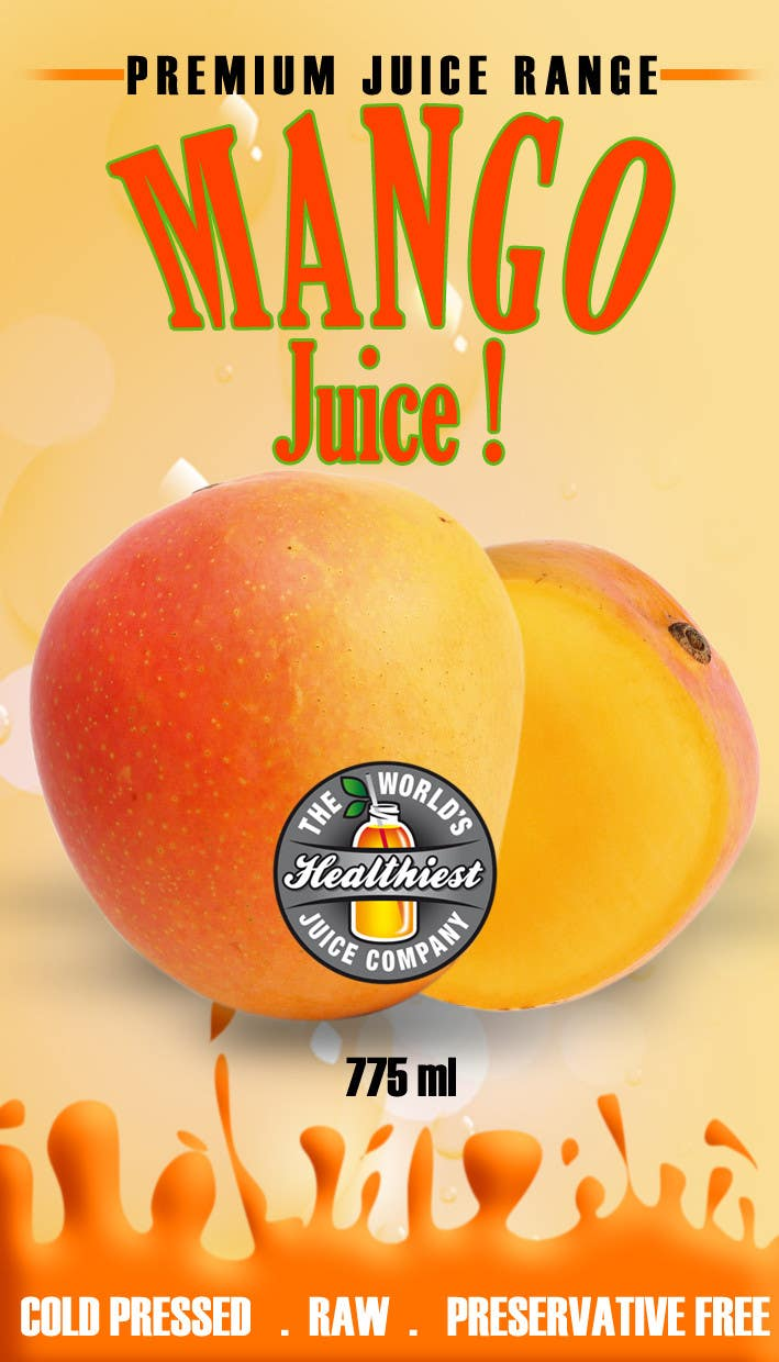 #22 for Design a Label for Juice Bottle by akritidas21