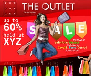 Конкурсная заявка №41 для Banner Ad Design for The Outlet Fashion Company