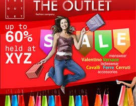 #41 pentru Banner Ad Design for The Outlet Fashion Company de către steamrocket