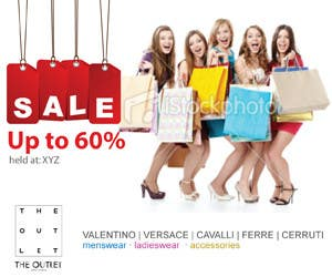 Конкурсная заявка №24 для Banner Ad Design for The Outlet Fashion Company