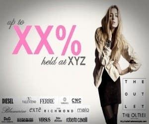 Конкурсная заявка №52 для Banner Ad Design for The Outlet Fashion Company