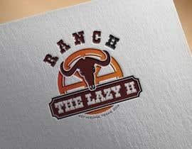 mara986 tarafından Design a logo for the Lazy H Ranch için no 9