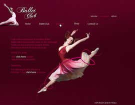 #1 for Ballet Site Landing Page by webdesigne22