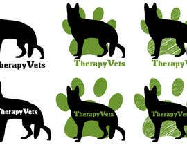 #5 para Design a Logo for TherapyVets Program por zsoltfazekas
