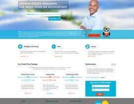 #28 for Design a Website home page and our people page Mockup af scriptmindz