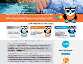 #25 for Design a Website home page and our people page Mockup by IllusionG