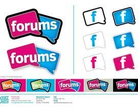 #33 dla Logo Design for Forums.com przez CreativeBaked