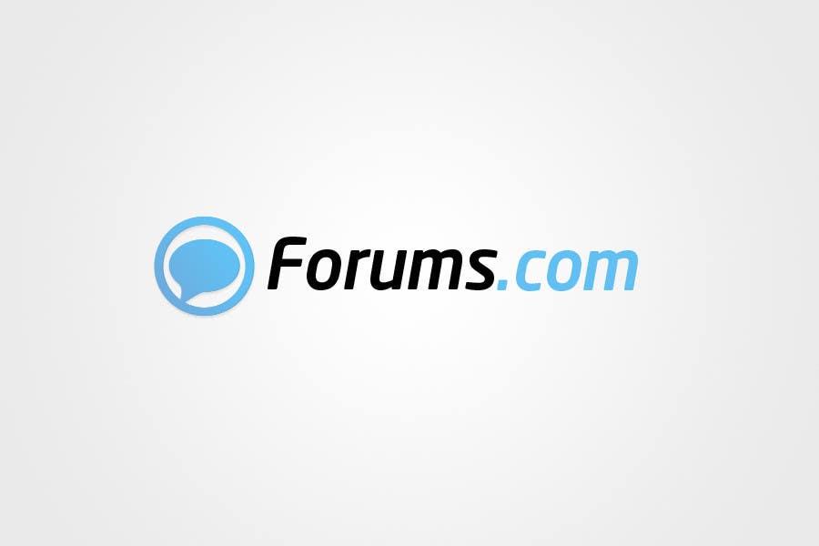 Kilpailutyö #67 kilpailussa Logo Design for Forums.com