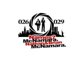 marinza tarafından 007 James Bond New York Logo için no 36