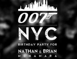 jerrijon26 tarafından 007 James Bond New York Logo için no 35