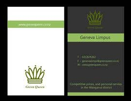 #65 for Design some Business Cards for Green Queen by mogharitesh