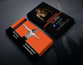 AhamedAntur tarafından Design a business card for personal training business için no 43