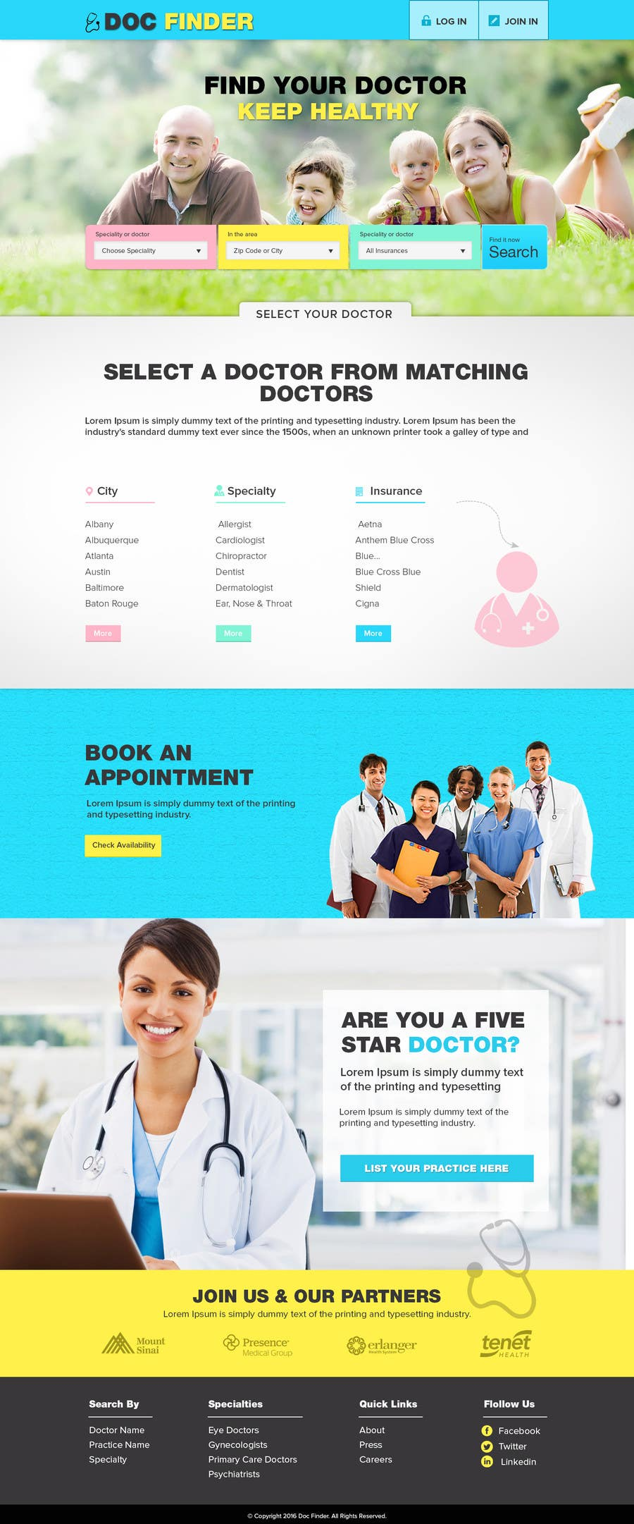 Entry #2 by chandradip123 for Website Mockup | Freelancer