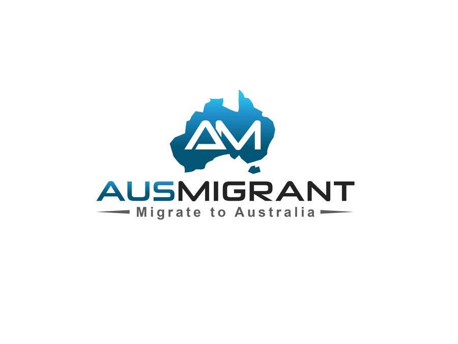 Penyertaan Peraduan #2 untuk Design a Logo for http://www.ausmigrant.com And a Cloud Internet Provider