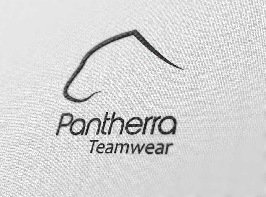 Kilpailutyö #1 kilpailussa Panther head logo