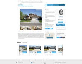 nº 31 pour Design a Website Mockup for Estate Agent par mbr2
