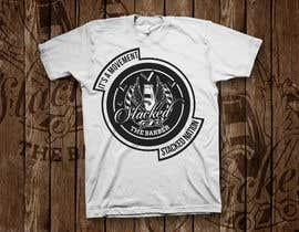 LynArts tarafından Design a T-Shirt 3'Stacks the Barber için no 32