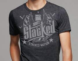 alexispereyra tarafından Design a T-Shirt 3'Stacks the Barber için no 48