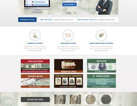 #42 para Redesign an Existing Website for a Currency Auction & Store por Pavithranmm