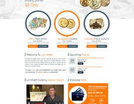 #41 para Redesign an Existing Website for a Currency Auction & Store por ProliSoft