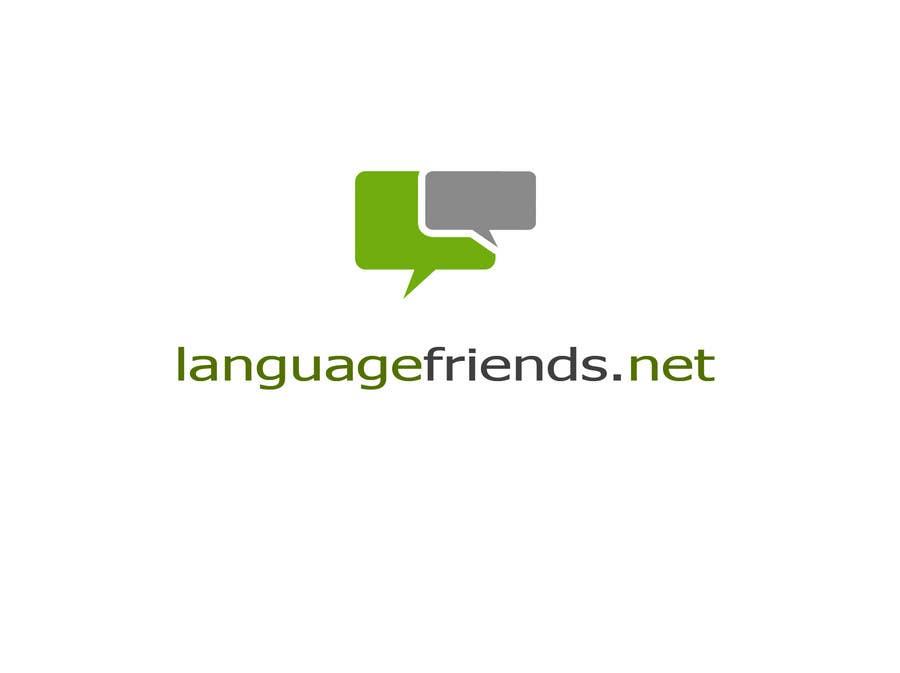 Kilpailutyö #95 kilpailussa Logo Design for An upcoming language exchange partner online portal, www.languagefriends.net