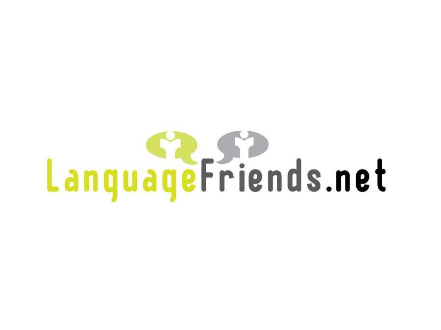 Конкурсная заявка №52 для Logo Design for An upcoming language exchange partner online portal, www.languagefriends.net
