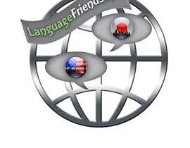 loubnady tarafından Logo Design for An upcoming language exchange partner online portal, www.languagefriends.net için no 210