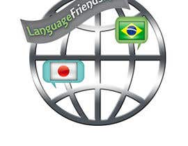 #209 para Logo Design for An upcoming language exchange partner online portal, www.languagefriends.net por loubnady