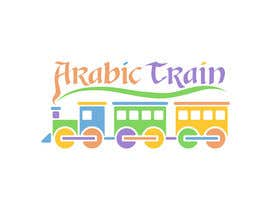 nº 37 pour Design a logo for an online website teaching Arabic  'Arabic Train' par rogerweikers