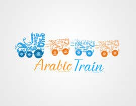 nº 44 pour Design a logo for an online website teaching Arabic  'Arabic Train' par BrainJR