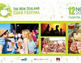 terucha2005 tarafından New Zealand Cider Festival Banner için no 47
