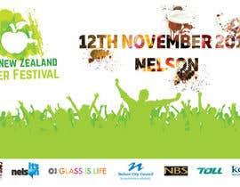 ravi05july tarafından New Zealand Cider Festival Banner için no 43