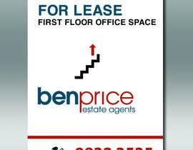 Nro 10 kilpailuun Design a for lease sign käyttäjältä DungDG