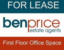 Nro 2 kilpailuun Design a for lease sign käyttäjältä hamodesigns