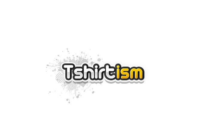 #120 for Design a Logo for tshirtism.com by krewrstudio