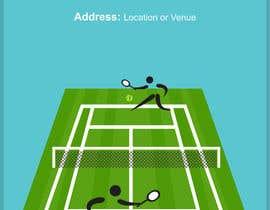 Nro 5 kilpailuun Need an eye carching Tennis Coaching Lesson Flyer käyttäjältä waseemahmed345