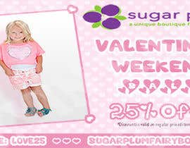 #20 for I need some Graphic Design for Upscale Kids Clothing Store Valentines Sale by ddh1122