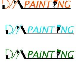 Nro 39 kilpailuun DM Painting Logo 1 -- 2 käyttäjältä aishaelsayed95