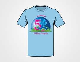 """#35 para 2014 Lillie's Friends """"Got Friends?"""" 5K Race Shirt Design por meynardmeynard"""
