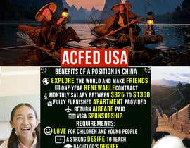"nº 11 pour Design a Flyer: ""Adventure Awaits - Teach English in China"" par andrei11"