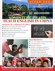 "Contest Entry #58 for Design a Flyer: ""Adventure Awaits - Teach English in China"""