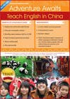 "Contest Entry #67 for Design a Flyer: ""Adventure Awaits - Teach English in China"""