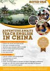 "Contest Entry #47 for Design a Flyer: ""Adventure Awaits - Teach English in China"""