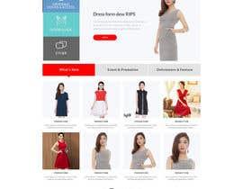Nro 70 kilpailuun URGENT! Design a responsive website mockup [Top page only] käyttäjältä phantham