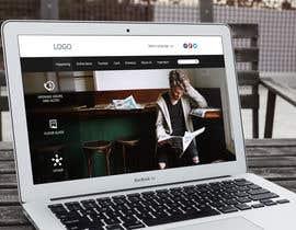 Nro 57 kilpailuun URGENT! Design a responsive website mockup [Top page only] käyttäjältä MochRPratama
