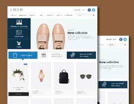 Nro 56 kilpailuun URGENT! Design a responsive website mockup [Top page only] käyttäjältä abhikreationz