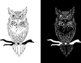 #56 for Draw me an OWL to use as a logo by rivemediadesign