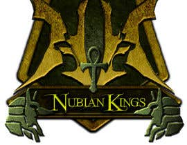 "johnnymakesmetal tarafından Design a Logo for ""Nubian Kings"" Strategy Card Game için no 1"