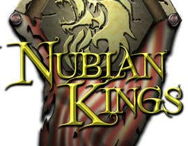 "johnnymakesmetal tarafından Design a Logo for ""Nubian Kings"" Strategy Card Game için no 10"